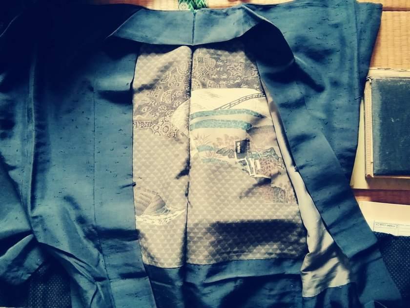 黒羽織の着方