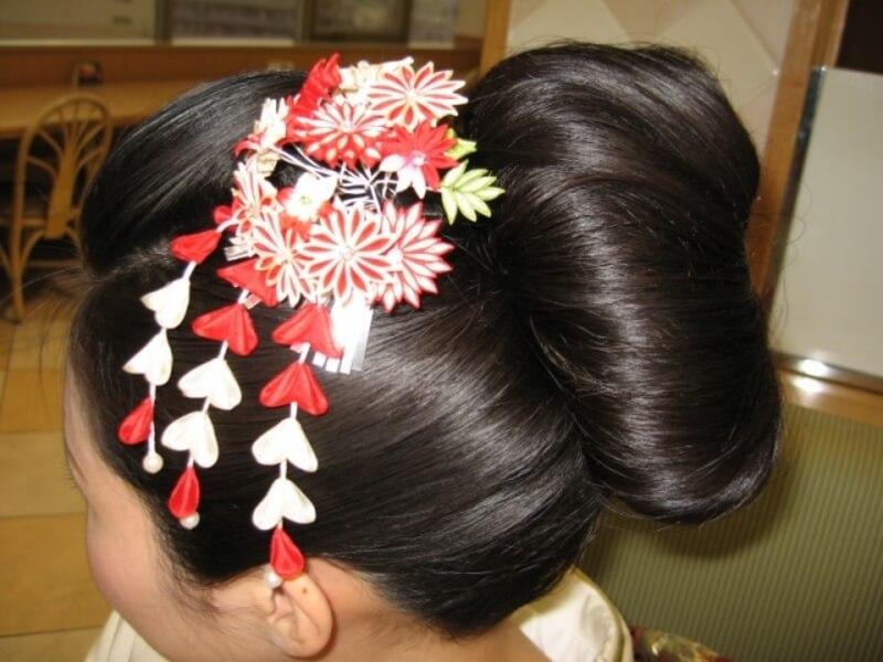 結婚式_振袖_髪飾り